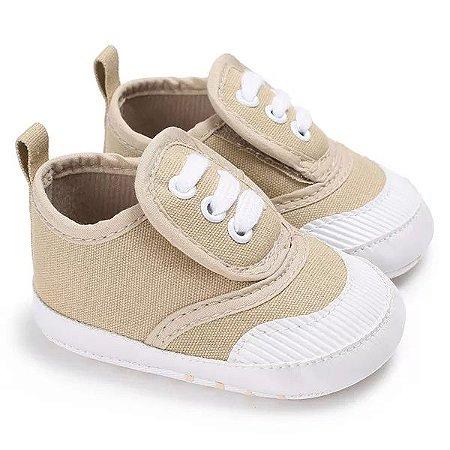 a070c9eec Tênis Velcro Caramelo - Pipoquinha Baby & Kids