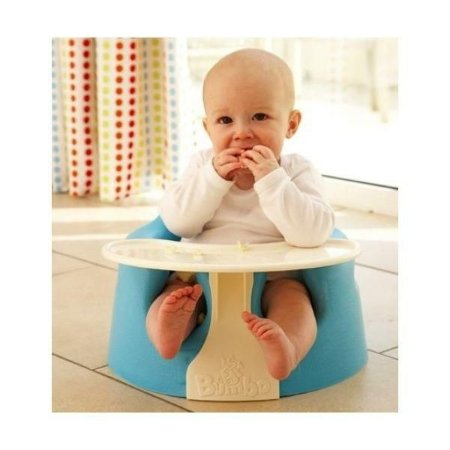 Cadeira Bumbo - Azul - COM BANDEJA