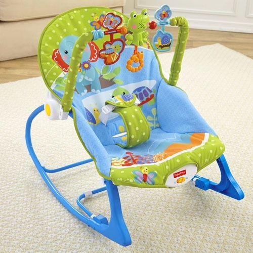 Cadeira Balanço Minha Infância Bosque - Fisher Price