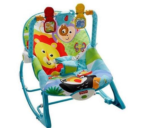 Cadeira Balanço Minha Infância Tucano e os Amigos - Fisher Price