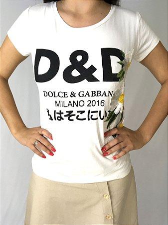 T-shirt dolce&gabbanna inspired