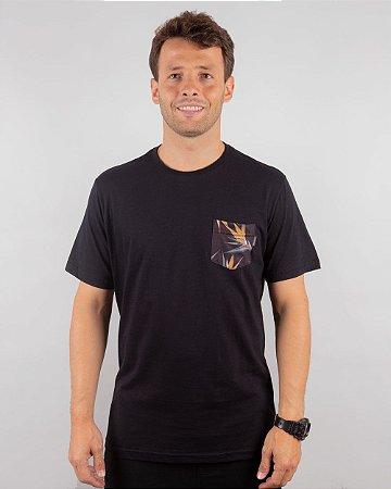 Camiseta Vida Marinha Manga Curta