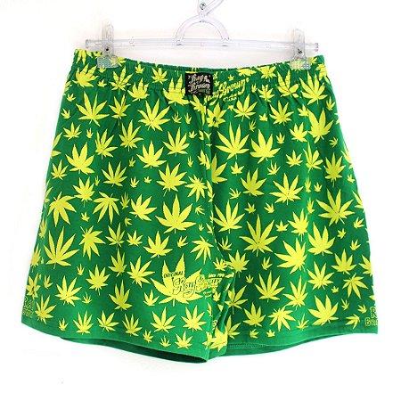Cueca Samba Canção Cannabis Verde