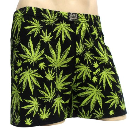 Cueca Samba Canção Cannabis Sativa Preta Ray Brown