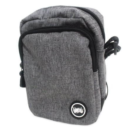 Shoulder Bag Chronic 420 Bolsa Ombro Cinza Pochete