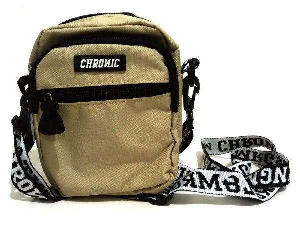 Shoulder Bag Chronic 420 Bolsa Bege Pochete Transversal