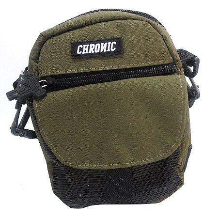 Shoulder Bag Chronic 420 Bolsa Ombro Verde Pochete