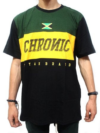 Camiseta Chronic 420 Original Jamaica Fyahbrand Reggae Roots