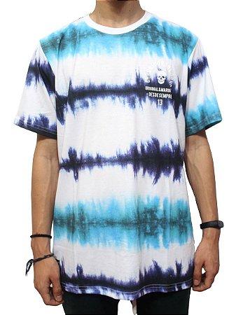 Camiseta Chronic 420 Original Tie Dye Azul