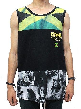 Camiseta Regata Chronic Bob Jamaica Reggae Roots