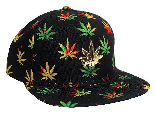Boné Cannabis Cayler & Sons Reggae Marijuana Snapback