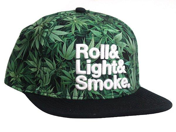 Boné Cannabis Cayler & Sons Roll Light Smoke Snapback
