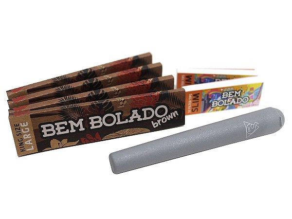 Kit 4 Sedas Bem Bolado + 2 Piteiras Slim + Mocó Squadafum