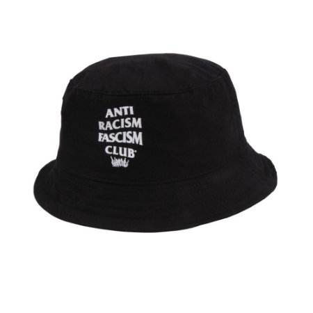 Chapéu Bucket Chronic 420 Anti Racism Fascism Club Pescador