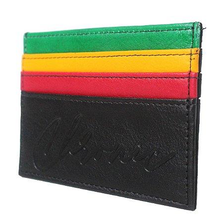 Carteira Chronic 420 Feminina Porta Cartão Reggae Sintético
