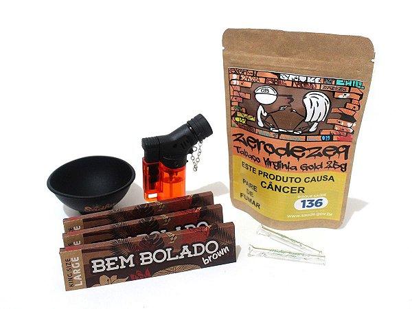 Kit Canábico Flor + Tabaco Madre Juana Headshop