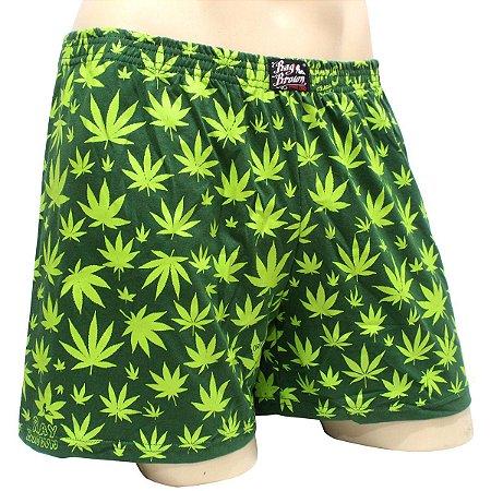 Cueca Samba Canção Cannabis Verde Skunk Ray Brown