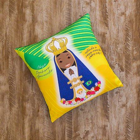 Almofada Coleção  Nossa Senhora Aparecida do Brasil 1