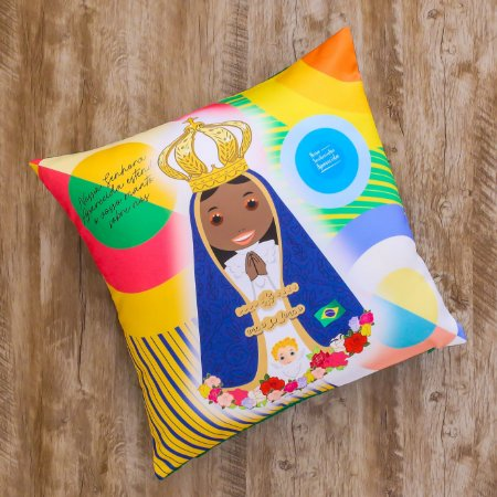 Almofada Coleção Nossa Senhora Aparecida do Brasil