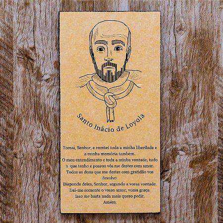 Quadro Santo Inácio de Loyola Clássico