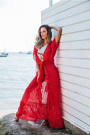 Saída de praia longa RED