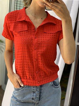 Camisa chiffon
