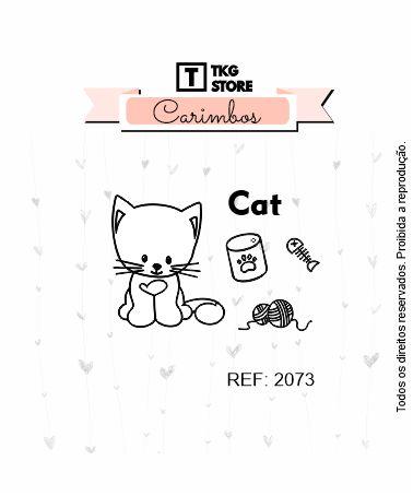 Carimbo Artesanal Cat 2073