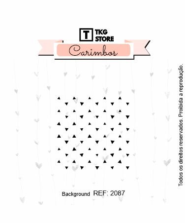 Carimbo Artesanal Background Grid 2087