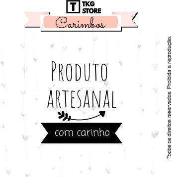 Carimbo Artesanal frase Produto