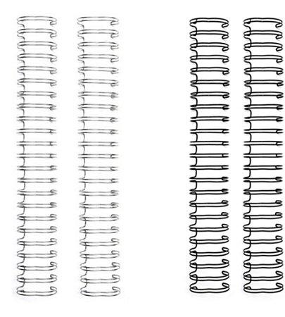 """Espiral Wire-o We R Memory Keepers 5/8"""" (1,6cm) para encadernação"""