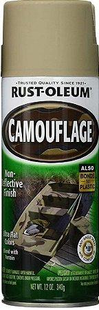 Spray Rust Oleum Camouflage Cáqui Bege - 340ml