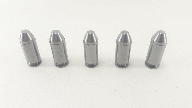 Snap Caps Munição de Manejo em Metal para Revolver .40 - Pacote com 10 unidades