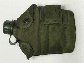 Cantil Militar com Caneco e Bolsa em Nylon Original Exército USA