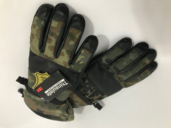 Luva Camuflagem Flecktarn - Exército Alemão (Bundeswehr)