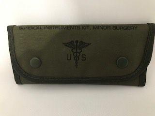 Kit de Cirurgia de Emergencia Militar - Original - Exército USA