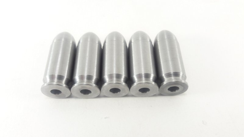 Snap Caps Munição de Manejo em Metal para Pistola .40 - Pacote com 5 unidades