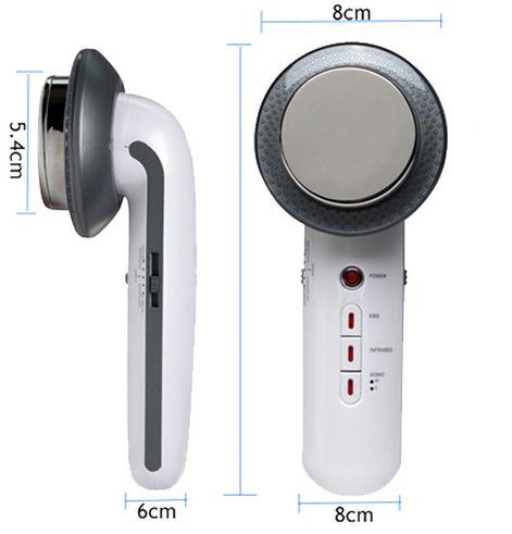 Ultrassom c/ Infravermelho 1-3 Mhz Portatil + Tens Massagem