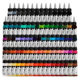 Set Electric Ink - Completo de 10 cores de 30ml