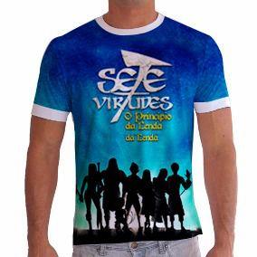 Camisa personalizada - O princípio da lenda