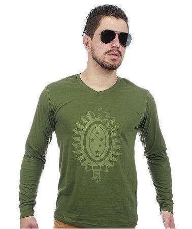 a129a9d46 Camisetas Militares Manga Longa - Mercado do Milico