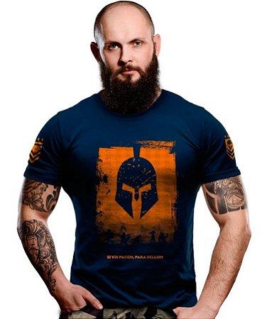 4cc4601d7b98d Camiseta Militar Si Vis Pacem Para Bellum