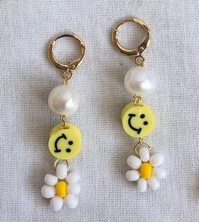 Brinco Smile Yellow