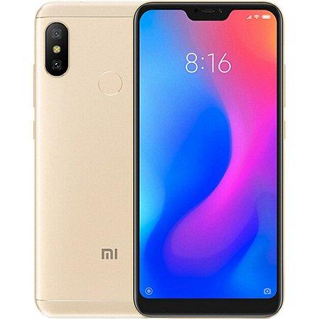Smartphone Xiaomi Mi A2 Lite DOURADO - 4G/ 5.84 polegada/  Android 8.1/ 4 GB RAM / 64GB/ 12.0MP + 5.0MP
