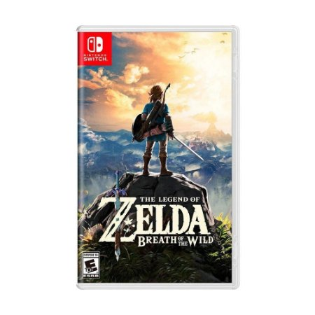 Jogo Zelda : Breath of The Wild - Nintendo Switch