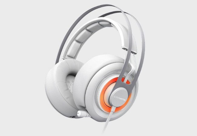 Headset SteelSeries  Siberia Elite - Branco