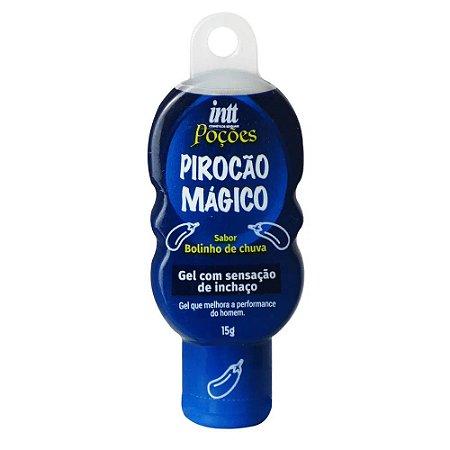 PIROÇÃO MÁGICO GEL COM SENSAÇÃO DE INCHAÇO 15G LINHA POÇÕES INTT
