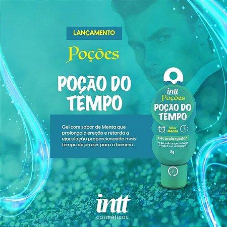 GEL PROLONGADOR MASCULINO POÇÃO DO TEMPO 15G LINHA POÇÕES INTT