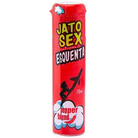 JATO SEX GEL EXCITANTE ESQUENTA E LUBRIFICA 18ML PEPPER BLEND