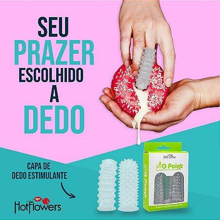 CAPA DE DEDO ESTIMULADORA G POINT HOT FLOWERS