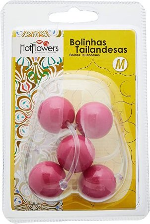 BOLINHA TAILANDESA MÉDIA HOT FLOWERS